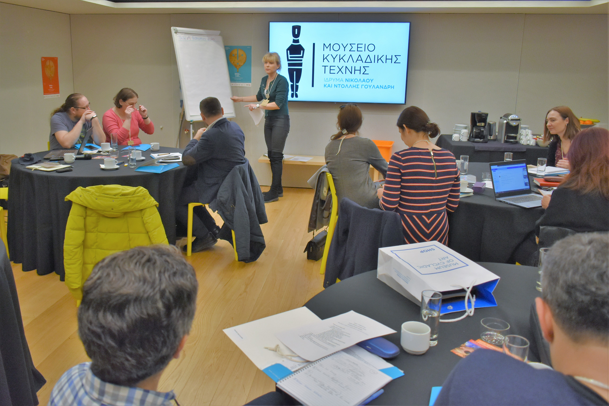 The second Transnational Meeting, in Athens